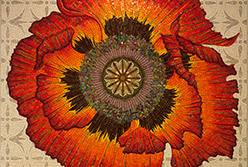 Celia Berry mosaic Poppy