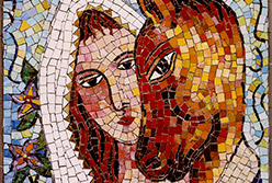 Celia Berry mosaic Saint Chagall Inspired